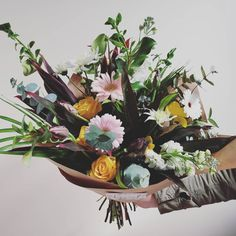 FRESH FLOWER BOUQUET F l o r a l S t y l i s t  (@pebbleanddot) Fresh Flowers, Bouquets, Plants, Bouquet, Bouquet Of Flowers, Plant, Planets