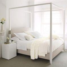 5x wegdromen in een simplistisch hemelbed Roomed | roomed.nl