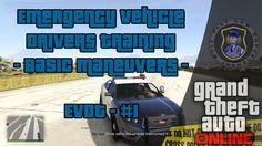 GTA V | Emergency Vehicle Drivers Training - Basic Maneuvers [PS4]