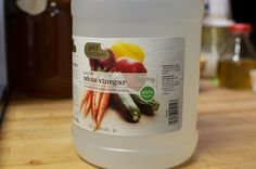 Canning 101: White Vinegar in the Canning Pot Prevents Mineral and Metallic Deposits