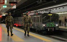 Militari nelle stazioni della Metro, cosa ne pensano i romani? Da qualche giorno nelle stazioni delle metropolitane di Roma ci sono presidi fissi di militari con mitra spianate. Sono per la sicurezza! Ho fatto un breve sondaggio via twitter, per capire meglio co #giubileo #roma #atac
