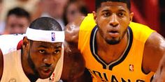 paul george, holding his own against lebron and looking mighty fine doing it:)