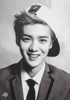 Luhan - a lead vocal of kpop boy band EXO,