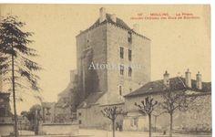 La prison moulin. France? Ancienne carte postale. Vintage postcard.