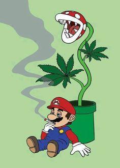 Stoner Mario