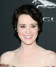 Claire Foy Short Hair Girl In The Spiders Web Beauty