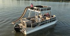 pontoon boats w grill - Bing Images