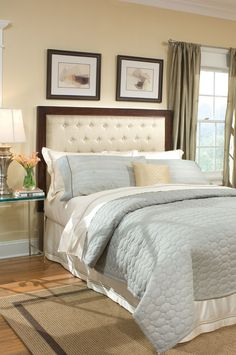 Beds from Home Gallery Stores have the guaranteed lowest price, free* delivery and in-home setup* nationwide. Over 2100 items include panel, poster, sleigh, canopy and loft beds. Tufted Headboards, Tufted Bed, Under Bed Storage, Panel Bed, Bedroom Furniture, Comforters, Loft, Blanket, Lofts