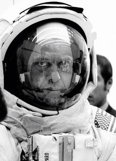 Alan Shepard Apollo Space Program, Apollo Missions, Kennedy Space Center, Vintage Space, Space Travel, Space Exploration, Space Suits, Photography, Astronomy