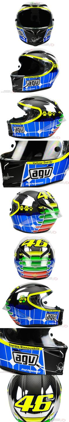 Another one for Valentino Rossi fans: the Limited Edition AGV Corsa Rossi Mugello 2015 Helmet is now available! Click through for more details!