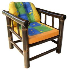 Heredia Bamboo Arm Chair