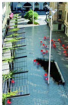 Mint Plaza, San Francisco USA CMG Landscape Architecture