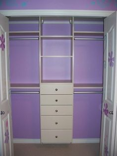closet design for a girl | Design Bedroom Closet Design Ideas, Pictures, Remodel, and Decor