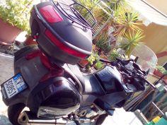 Moto Honda Deauville 700