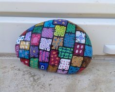 80 DIY Ideas of Painted Rock Patterns to Inspire  #diy #ideas #Inspire #Painted #Patterns #Rock