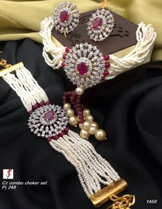 Diamond Jewellery available at Ankh Jewels for booking msg on Indian Jewelry Sets, Indian Wedding Jewelry, Bridal Jewellery, Stylish Jewelry, Fashion Jewelry, Beaded Jewelry, Gold Jewelry, Jewelry Patterns, Necklace Designs