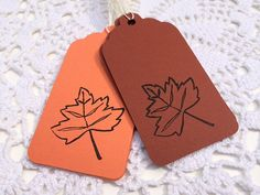 Fall Gift Tag, Maple Leaf Label, Harvest Party Goody Bag Tag, Thanksgiving Tag, Autumn Favor Label, Fall Wedding Bridal Shower Wishing Tree
