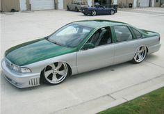 95 impala ss carma | CARMA silver green