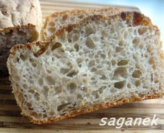 Najprostszy chleb na zakwasie – Saganek Poffertjes, My Favorite Food, Favorite Recipes, Bread Recipes, Cooking Recipes, Sandwiches, Tasty, Yummy Food, Polish Recipes