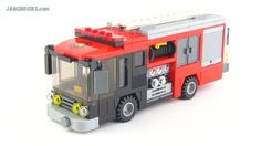 Lego For Kids, All Lego, Lego Auto, Lego Wheels, Lego Fire, Lego Sculptures, Lego Truck, Lego City Sets, Lego City Police
