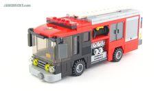 lego city mocs | LEGO Fire pumper truck MOC
