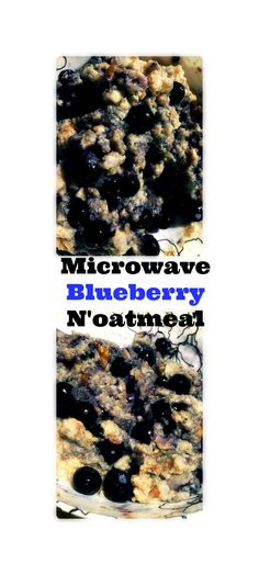 Microwave Blueberry N'oatmeal Allergy Free Recipes, Healthy Recipes, Tuesday Recipe, Meatless Monday, Breakfast Recipes, Breakfast Ideas, Egg Free, Recipe Of The Day, Free Food