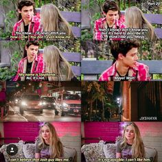I know that this is a fake scene but I ship Joshaya and my name actually is Stephanie so I feel obligated❤️