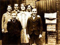 Temple family. c1930 , 79 Stratford Road, Sparkbrook, Birmingham