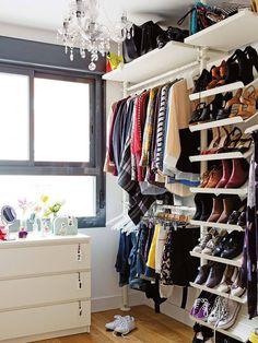 Custom Closet Design Ideas Which You Can Consider - Torturein Egypt Wardrobe Closet, Master Closet, Closet Bedroom, Walk In Closet, Closet Space, Bedroom Decor, Wardrobe Organisation, Home Organization, Ideas Armario