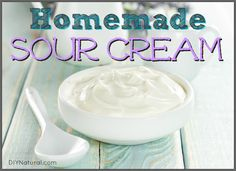 Learning how to make sour cream is surprisingly easy, and it sets in just 24 hours. It's not necessarily cheaper, but making your own always has its perks!