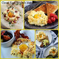 Ideas para presentar Huevos Nube, perfectos para tus invitados en un Desayuno o Brunch!...#brunch #brunchtime #huevos #huevosnube #desayuno #breaksfast #celebracion #eggs #cloudeggs #susanitasparty #ideas