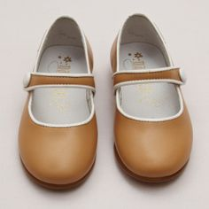 Girls Leather Bar Shoes