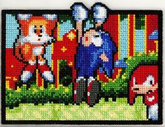 Sega Curiosity - cross stitch pattern