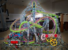 Clockwork - K'nex Roller Coaster