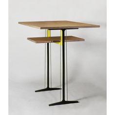 Stoller Works Yellow Frame Standing Desk
