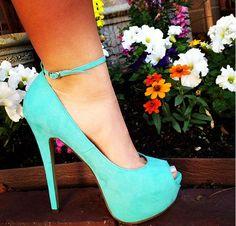 #Prom #Heels #TiffanyBlue Repin & Follow my pins for a FOLLOWBACK!