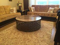 Lazer kesimli üzeri mermer orta sehpa Müşterimiz Memduh bey ve ailesinin iyi günlerde kullanmalarını dileriz #cisa #metal #sehpa #mermer #home #mimar #interior #dekorasyon #design #dekor #decor #dresuar #coffetable #yansehpa #ortasehpa #özel #tasarım #marble
