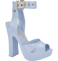 Love this shoes ♡ VIVIENNE WESTWOOD ANGLOMANIA + MELISSA SLAVE SANDAL - Products - Melissa