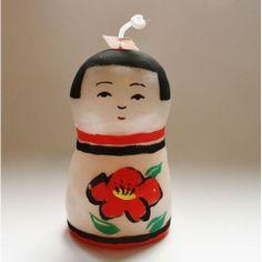 Pichio candle こけしキャンドル(津軽)