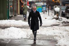 New York Fashion Week Street Style: Nick Wooster wearing Hunter boots New York Fashion Week Street Style, Nyfw Street Style, Ny Fashion Week, Fashion Mode, Urban Fashion, Nick Wooster, Mens Rain Boots, Mens Hunter Boots, Man Boots