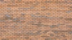 Red Brick Wall. Red Brick Walls. Uniform Brickwork - Stone Textures