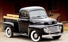 1948 Ford F1 Front