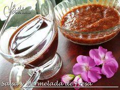Salsa y Mermelada de Fresa, para los Miercoles de la nueva dieta Dukan  #EscaleraNutricional #MiercolesFruta #MercredisGourmands