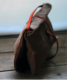 959d344ca93c Like this waxed canvas lunch sack by sketchbook.  bag  lunchsack  canvas