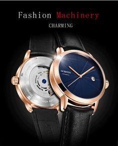 008963a54ba7 OCHSTIN 2019 superior de la marca de lujo de los hombres ver fecha deportes  relojes mecánicos