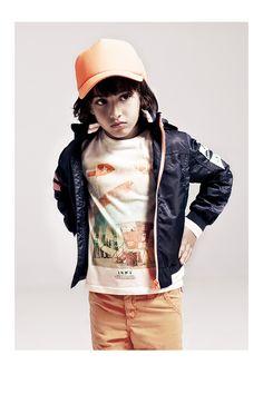 Vêtements garçon IKKS: look enfant printemps-été 2014 #SS14 #IKKS