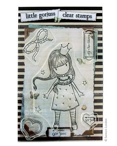 Gorjuss Clear stamps - My Own Universe - Santoro London