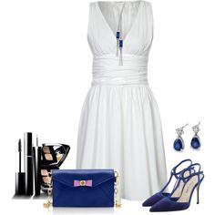 """""""Blue"""" by justjules2332 on Polyvore"""