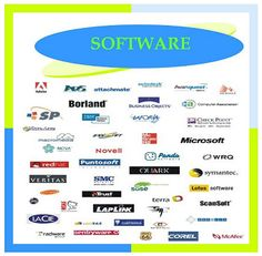 QUE ES SOFTWARE Hardware, Microsoft, Chart, Ads, Business, Logo, Computers, Operating System, Management