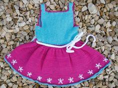 Strickanleitung Babydirndl 56/62 Baby Dirndl, Crochet Baby, Babys, Handmade, Fashion, Baby Knitting, Projects, Babies, Moda